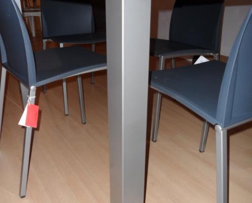 Tavolo laminato bianco art 160 in occasione outlet for Outlet arredamento vicenza