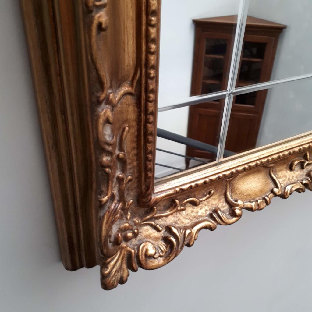 Specchio con cornice laccata oro art 255 in occasione for Mobili d occasione