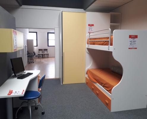Cameretta a castello + cabina armadio - Outlet mobili e ...