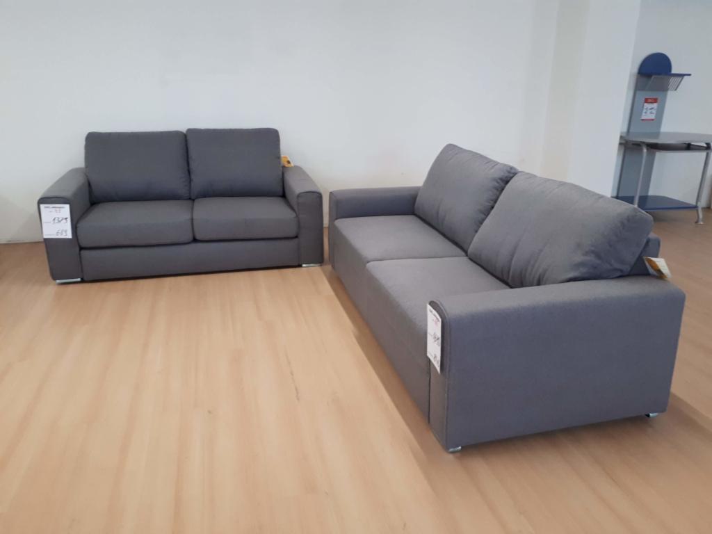 Coppia di divani outlet mobili e arredamento for Outlet mobili vicenza