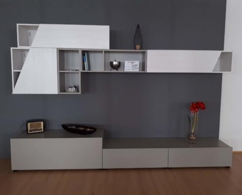 Soggiorno modulare outlet mobili e arredamento for Outlet mobili vicenza