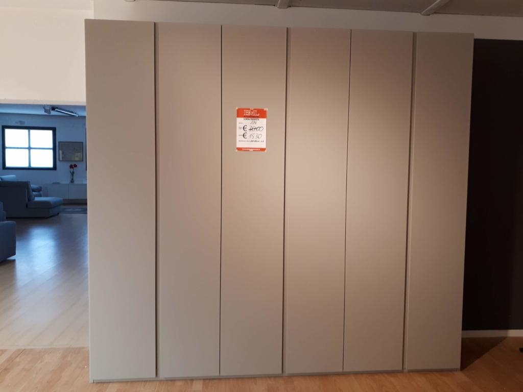 Armadio beige (art.206) in offerta - Outlet mobili e ...